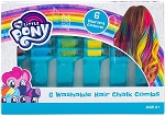 My Little Pony 6pc Washable Hair Chalk Combs