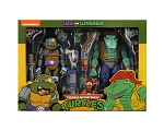 "Teenage Mutant Ninja Turtles Leatherhead and Slash 7"" Action Figure 2 Pack"