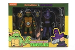 Teenage Mutant Ninja Turtles Michaelangelo vs. Foot Soldier 6