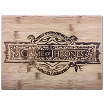 Game of Thrones Logo Bamboo Cutting Board