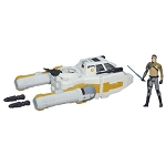 Star Wars Y-Wing Scout Bomber with 3 3/4