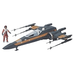 Star Wars EP7 The Force Awakens Poe's X-Wing Fighter