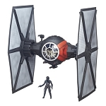 Star Wars Black Series EP7 The Force Awakens Deluxe 1st Order TIE Fighter with 6