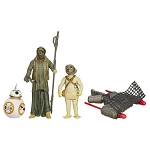 Star Wars EP7 The Force Awakens Desert Mission BB-8, Jakku Scavenger & Unkar's Thug 3 3/4