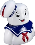 Ghostbusters Stay Puft Marshmallow Man Head Cookie Jar