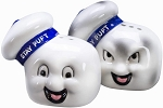 Ghostbusters Stay Puft Marshmallow Man Salt & Pepper Set