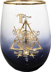 Harry Potter Deathly Hallows 20oz Stemless Glass