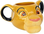 The Lion King Simba 18oz Sculpted Mug
