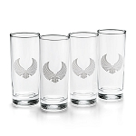 Star Trek Romulan Ale 12oz Highball Glasses - Set of 4