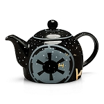 Star Wars Empire 32oz. Black Ceramic Teapot